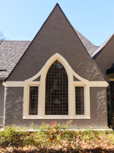 Sashwright Tudor arched window restoration